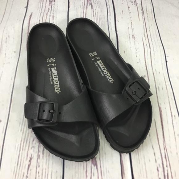 c4eefe44ff4 Birkenstock Shoes - Birkenstock Black Madrid Eva Waterproof Sandals